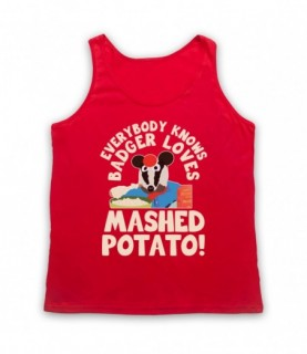 Bodger & Badger Badger Loves Mashed Potato Tank Top Vest