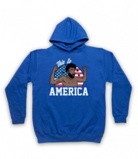 Childish Gambino Donald Glover This Is America Hoodie Sweatshirt Hoodies & Sweatshirts