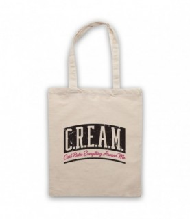 Wu-Tang Clan CREAM Cash Rules Everything Around Me Tote Bag