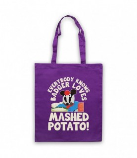 Bodger & Badger Badger Loves Mashed Potato Tote Bag