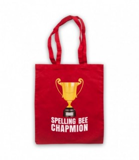 Spelling Bee Chapmion Funny...
