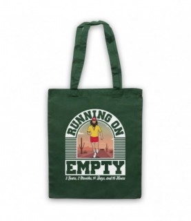Forrest Gump Jackson Browne Running On Empty Tote Bag