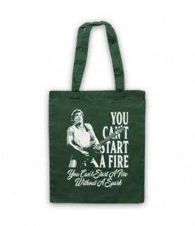 Bruce Springsteen Dancing In The Dark You Can't Start A Fire Tote Bag