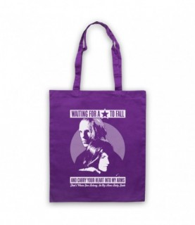 Boy Meets Girl Waiting For A Star To Fall Tote Bag