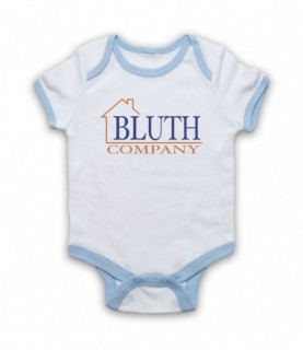 Arrested Development Bluth Company Logo Baby Grow Bib