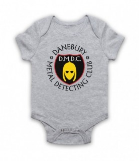 Detectorists Danebury Metal Detecting Club Baby Grow Bib