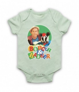 Bodger & Badger Kids TV Show Baby Grow Bib