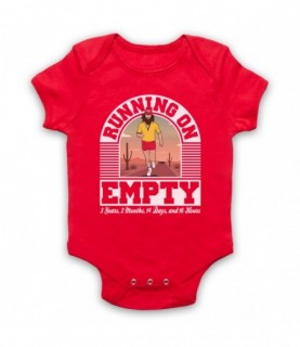 Forrest Gump Jackson Browne Running On Empty Baby Grow Bib