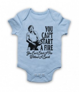 Bruce Springsteen Dancing In The Dark You Can't Start A Fire Baby Grow Bib