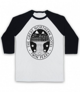 Twin Peaks The Great Northern Hotel Baseball Tee
