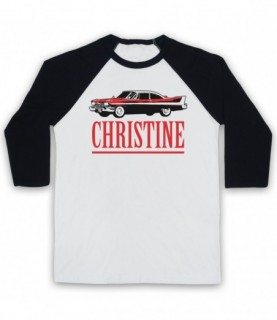 Christine Logo Plymouth Fury Baseball Tee