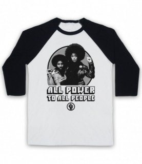 BlacKkKlansman All Power To All People Baseball Tee