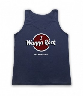 I Wanna Rock Are You Ready? Tank Top Vest