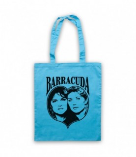 Heart Barracuda Tote Bag