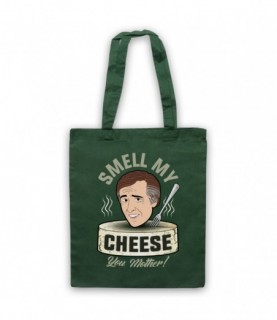 Alan Partridge Smell My Cheese You Mother Tote Bag