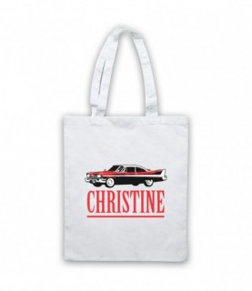 Christine Logo Plymouth Fury Tote Bag