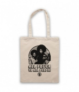 BlacKkKlansman All Power To All People Tote Bag