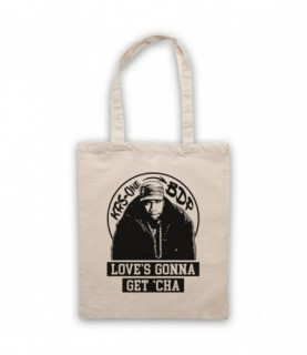 Boogie Down Productions KRS-One Love's Gonna Get Cha Tote Bag