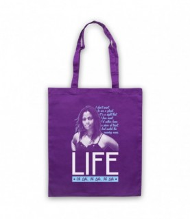 Des'ree Life Lyrics Don't Want To See A Ghost Sight I Fear Most Tote Bag