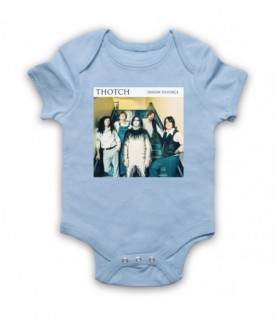 Brian Pern Thotch Onion Divorce Album Cover Baby Grow Bib