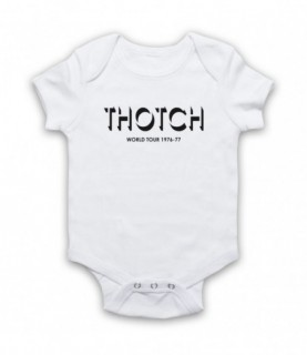 Brian Pern Thotch World Tour 1976-77 Baby Grow Bib