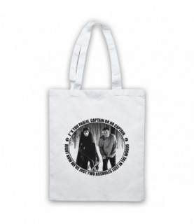 Sopranos Christopher Paulie Lost In The Woods Famous Scene Tote Bag