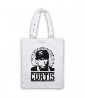 50 Cent Curtis Jackson Tribute Tote Bag