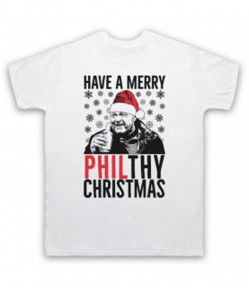 Eastenders Phil Mitchell Have A Merry Philthy Christmas T-Shirt
