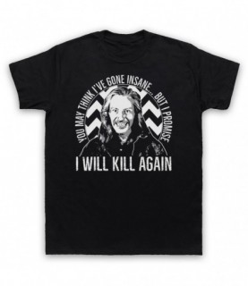 Twin Peaks Killer Bob I Will Kill Again T-Shirt