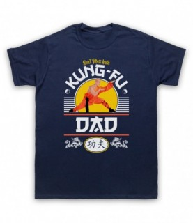 Don't Mess With Kung-Fu Dad Martial Arts Expert T-Shirt