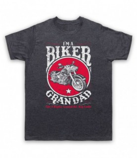 I'm A Biker Grandad Like A Regular Grandad But Way Cooler T-Shirt