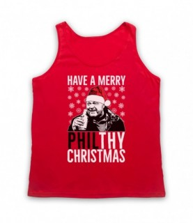 Eastenders Phil Mitchell Have A Merry Philthy Christmas Tank Top Vest