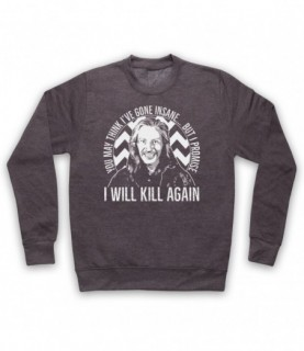 Twin Peaks Killer Bob I Will Kill Again Hoodie Sweatshirt Hoodies & Sweatshirts