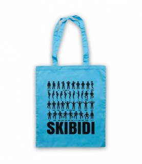 Little Big Skibidi Dance Routine Challenge Moves Tote Bag