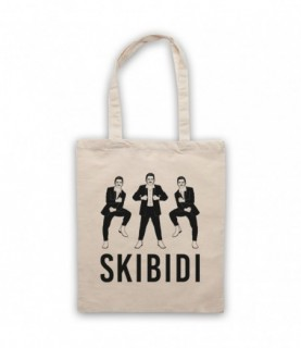 Little Big Skibidi Ilych Cross Stomp Dance Move Tote Bag