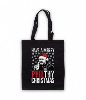 Eastenders Phil Mitchell Have A Merry Philthy Christmas Tote Bag