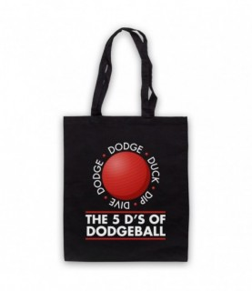 Dodgeball The 5 D's Dodge Duck Dip Dive And Dodge Tote Bag