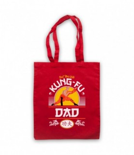 Don't Mess With Kung-Fu Dad Martial Arts Expert Tote Bag
