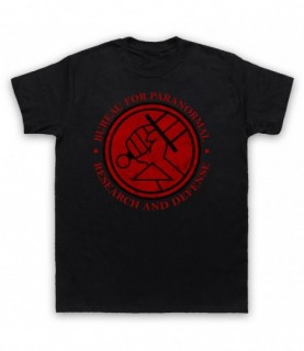Hellboy Bureau For Paranormal Research And Defense T-Shirt