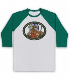 Labyrinth Sir Didymus Should You Need Us Baseball Tee