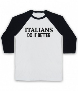 Madonna Italians Do It Better As Worn By In Papa Don't Preach Baseball Tee