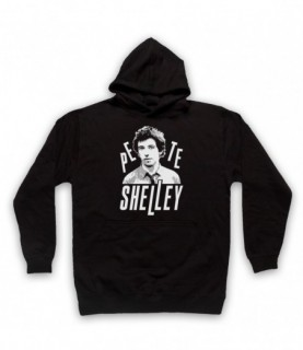 Pete Shelley Buzzcocks Tribute Hoodie Sweatshirt Hoodies & Sweatshirts