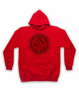 Hellboy Bureau For Paranormal Research And Defense Hoodie Sweatshirt Hoodies & Sweatshirts