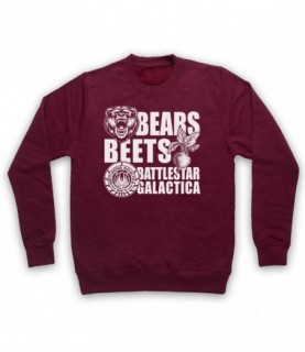 Office US Bears Beets Battlestar Galactica Hoodie Sweatshirt Hoodies & Sweatshirts