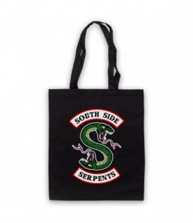 Riverdale South Side Serpents Two Headed Snake S Logo Tote Bag