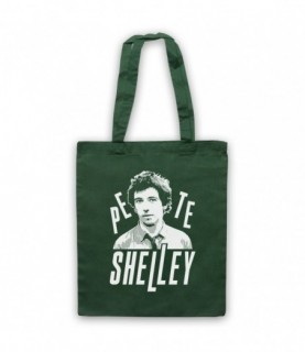 Pete Shelley Buzzcocks Tribute Tote Bag