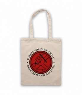 Hellboy Bureau For Paranormal Research And Defense Tote Bag