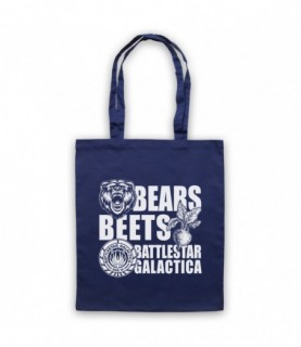 Office US Bears Beets Battlestar Galactica Tote Bag