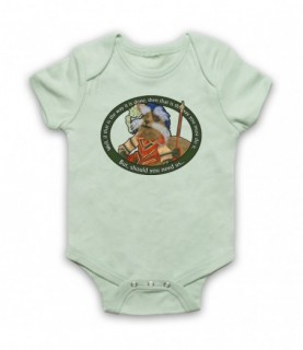 Labyrinth Sir Didymus Should You Need Us Baby Grow Bib