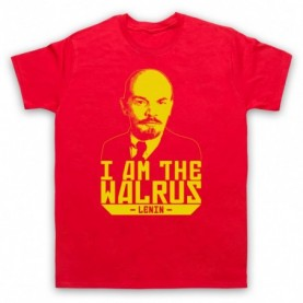 Big Lebowski Lenin I Am The Walrus T-Shirt